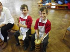 Making Butter - KS1 Castle workshop