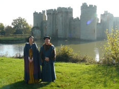 Visit us at Bodiam Castle