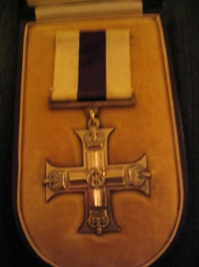 Jack's actual cross awarded for gallantry