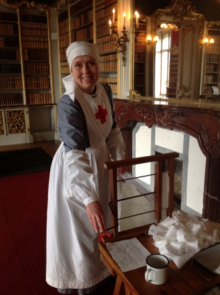 Karen as WW1 VAD nurse