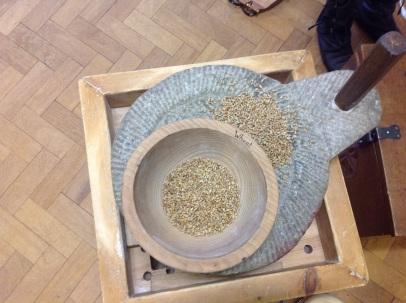 Wheat & the quern