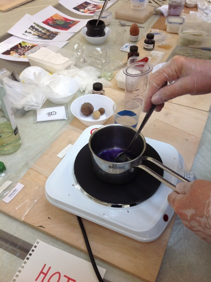 Ink making